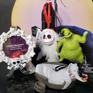 Disneyparks Nightmare Before Christmas Ornaments